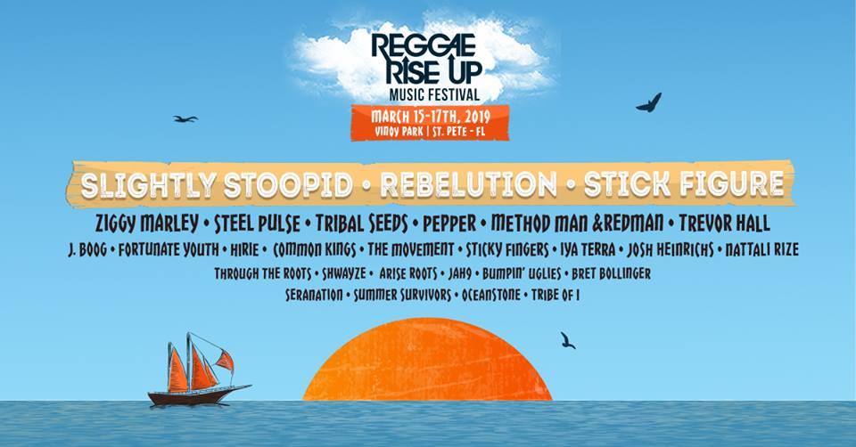 Reggae Rise Up Florida 2019 fully formed | Top Shelf Music
