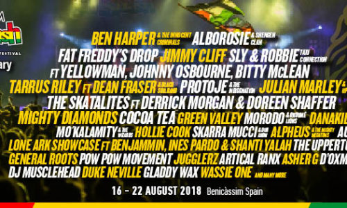 Rototom 2018 announces second-wave artists