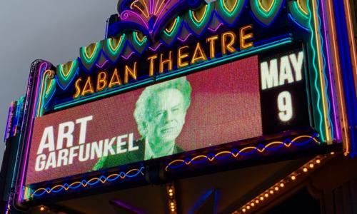 Art Garfunkel at LA's Saban Theatre