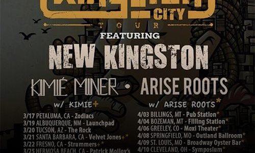 "New Kingston's 2015 ""Kingston City Tour"""