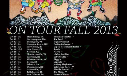 SOJA announces Fall 2013 tour dates