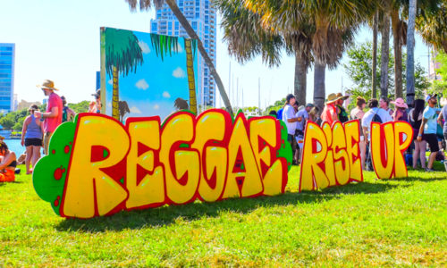 Attending Reggae Rise Up Florida 2019