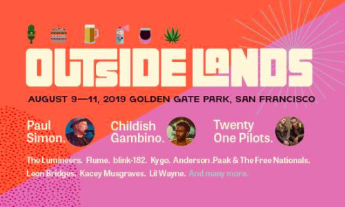 Outside Lands returns to San Francisco summer 2019