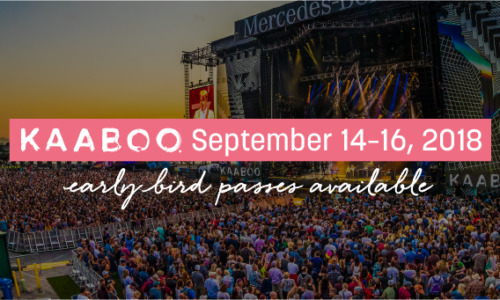 The 3rd Annual KAABOO MIX-perience