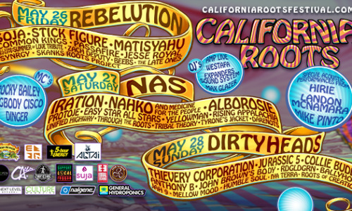 The 8th Annual California Roots Music & Arts Festival