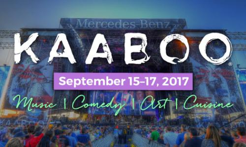3rd Annual KAABOO Festival announced