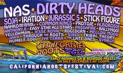 California Roots 2017 2nd announcement