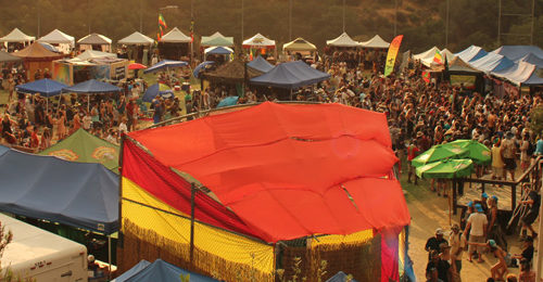 Reggae on the Mountain 2016