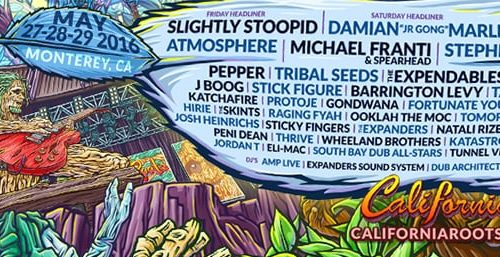 California Roots Festival announces final artists for 2016