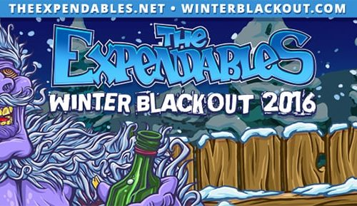 The Expendables Spring Blackout Tour 2016