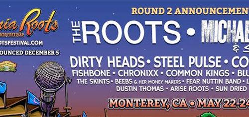 California Roots 2015: Round 2 artist announcement