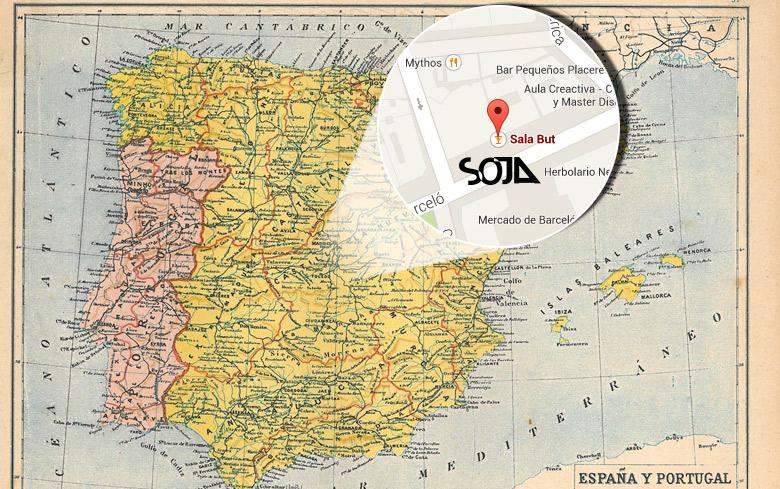 SOJA Madrid Spain