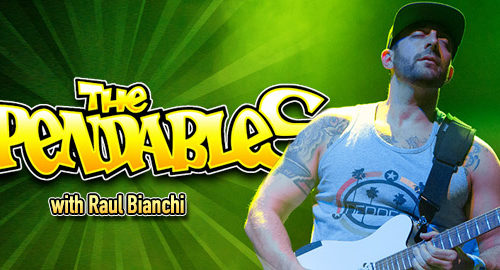 An interview with Raul Bianchi from The Expendables