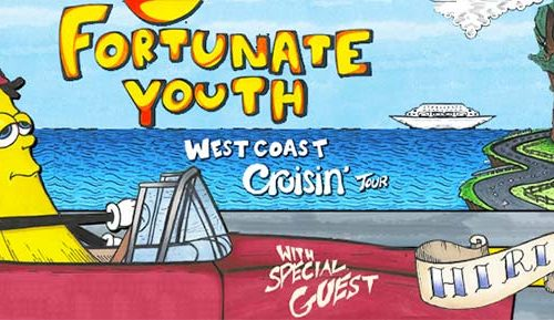 West Coast Cruisin' Tour 2014 with Fortunate Youth and Hirie