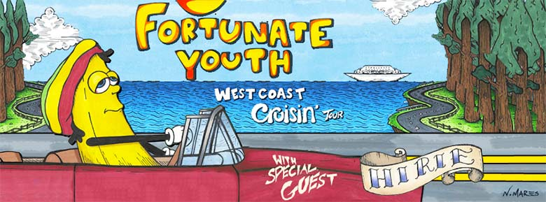 Fortunate Youth West Coast Cruisin' Tour