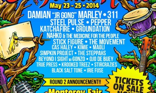 California Roots Festival – second round of artists announced