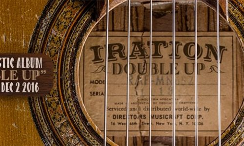 Iration unplugs with new acoustic album 'Double Up'
