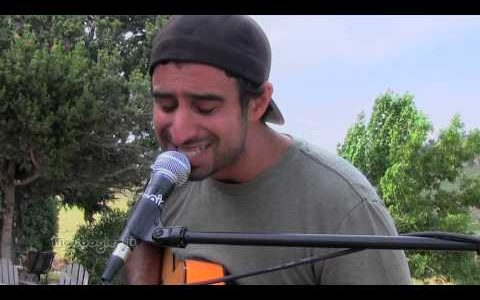 """Eric Rachmany """"Life On The Line"""" acoustic session"""
