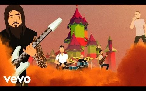 "311 ""Sand Dollars"" animated music video"