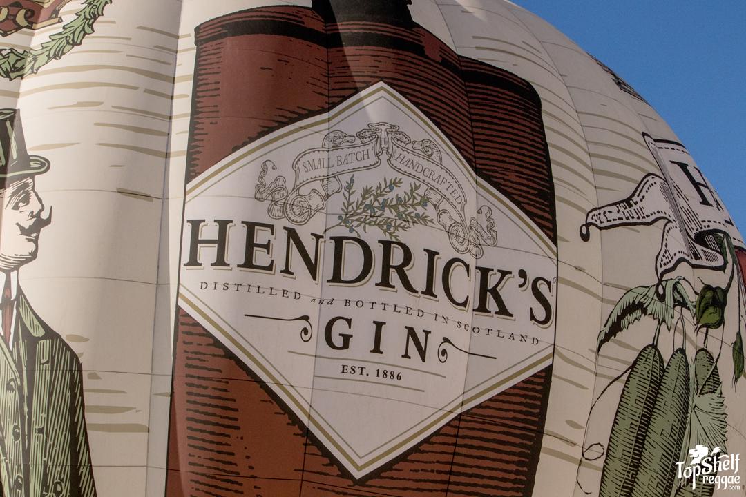 Hendrick's Gin Balloon