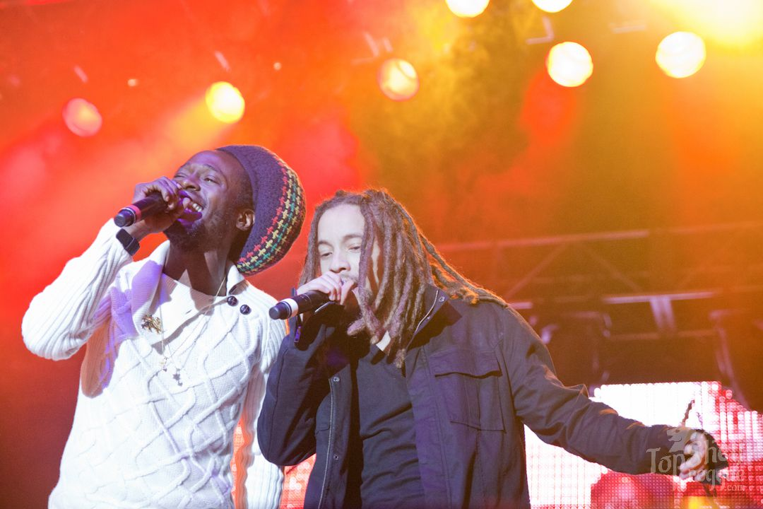 Jo Mersa Marley with Jesse Royal