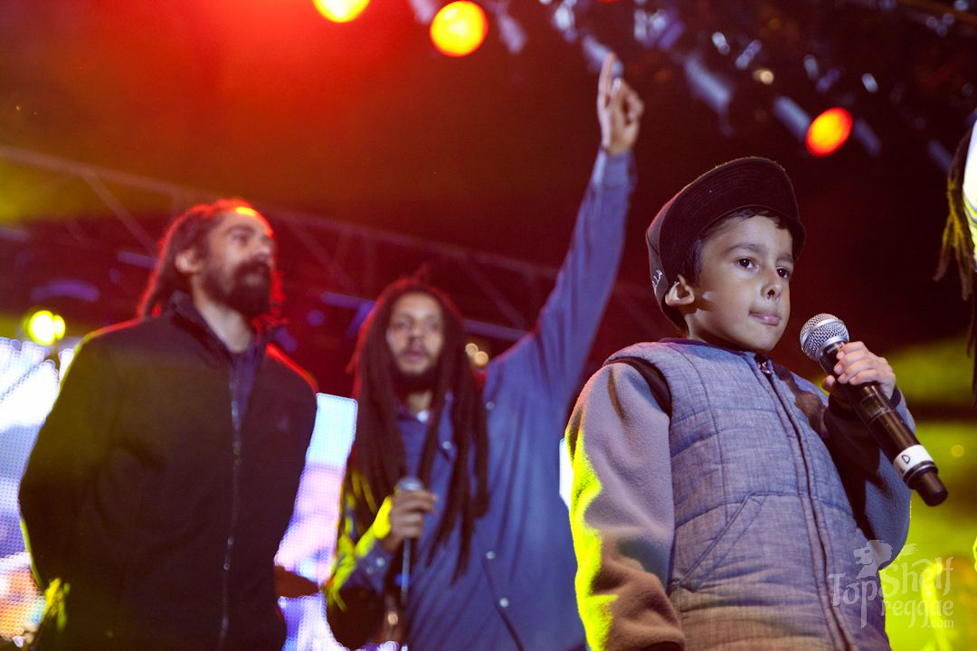 Damian and Julian Marley