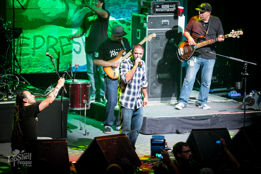 A special appearance from Eric Rachmany, lead vocals for Rebelution