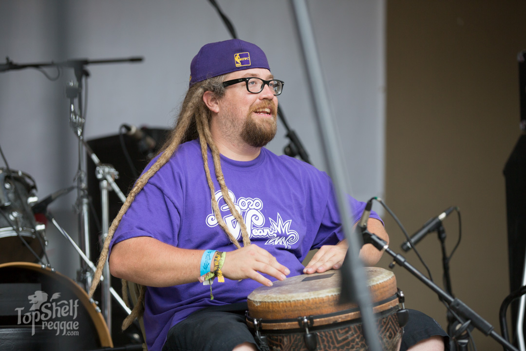 Mr. Bongos from Fortunate Youth sitting in with Kimie