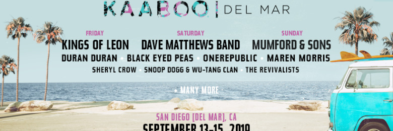 KAABOO Del Mar 2019 lineup revealed