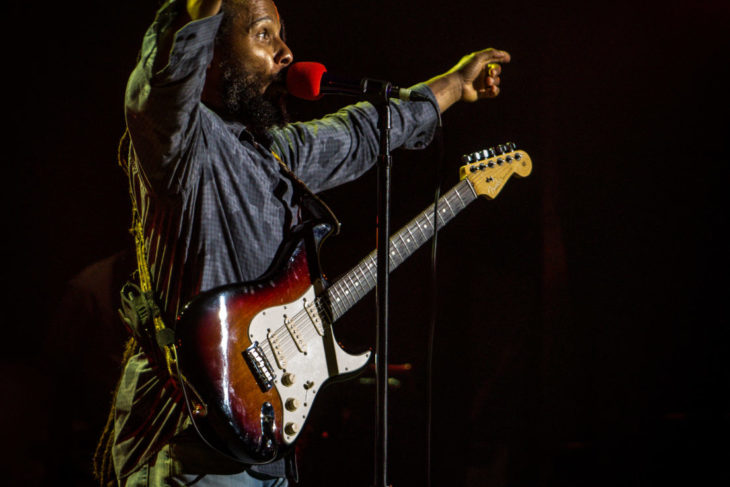 Ziggy Marley at Pacific AMP