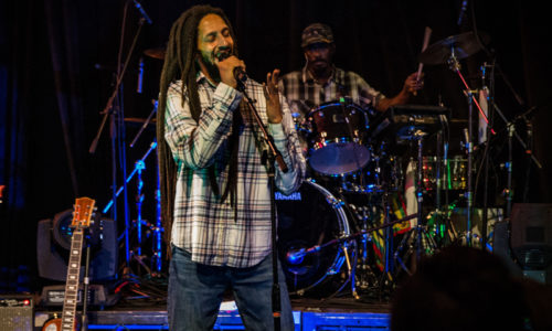 Julian Marley at Garden AMP