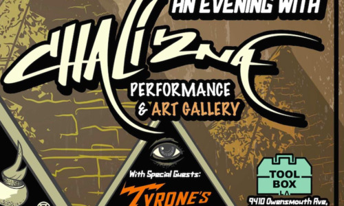 Yes I Can presents a night of hip hop, featuring Chali 2na