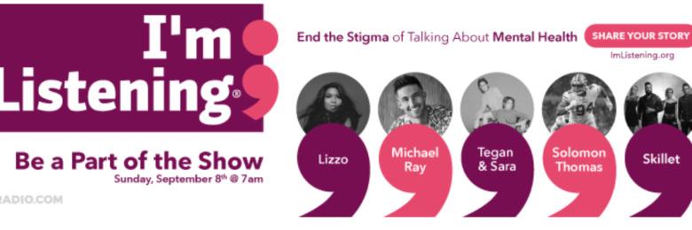"""Entercom's """"I'm Listening"""" broadcast returns for National Suicide Prevention Week 2019"""