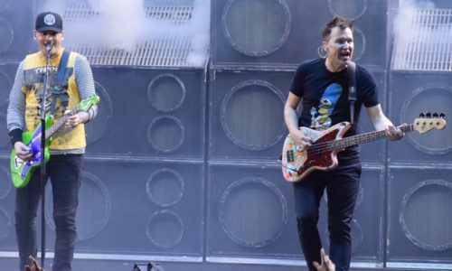 Blink-182 & Lil Wayne satisfy Seattle