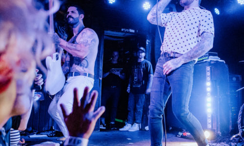 Senses Fail rocks Anaheim's Chain Reaction