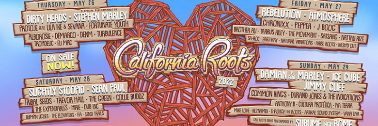 Cali Roots finalizes lineup for May 2022