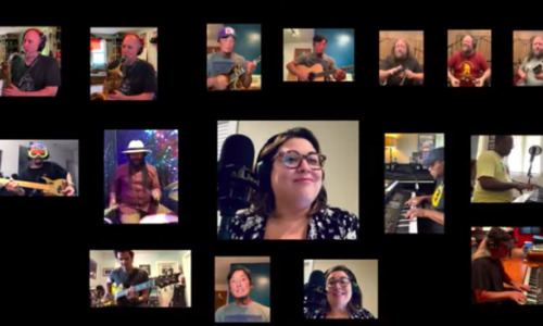 "String Cheese Incident & friends cover ""Crisis"" for COVID first responders"