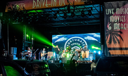 Fortunate Youth drive-in concert at The Grove: Night Two