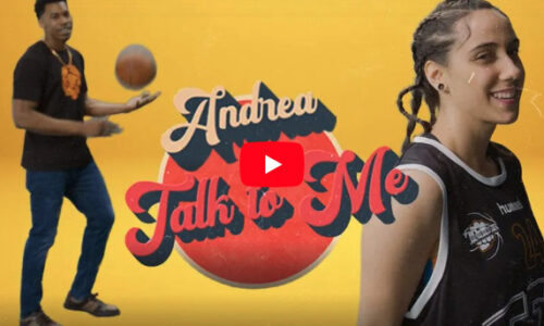 "Andrea unveils adorable ""Talk to Me"" music video"