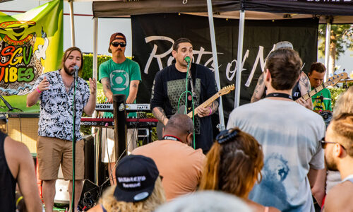 Roots of Mine & SGV Vibes perform Chino's I and I Brewing