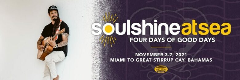Get ready for Soulshine at Sea, with Michael Franti & more
