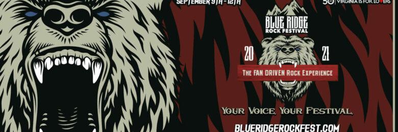 Fan-curated Blue Ridge Rock Fest returns to Virginia fall 2021