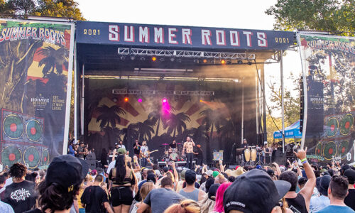 Experiencing the first annual Summer Roots Festival