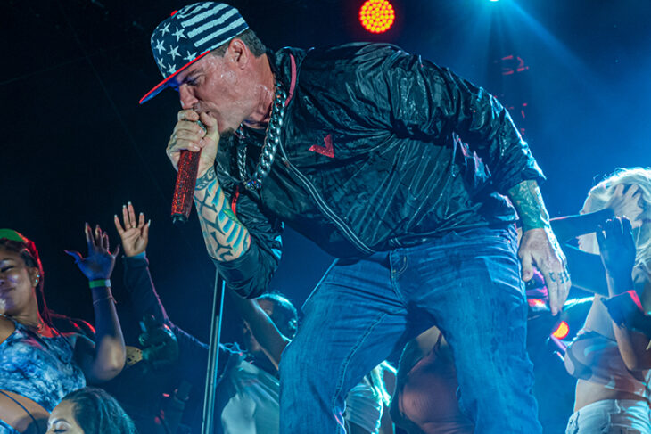 Vanilla Ice brought fire to Tequila & Taco Fest 2021