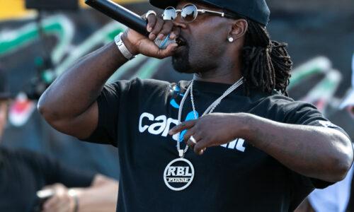 RBL Posse performs StreetLow Car Show at the Santa Clara County Fairgrounds