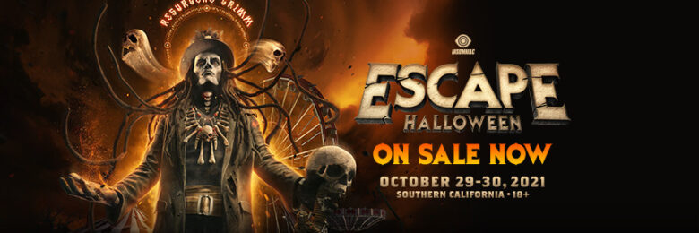 Enjoy two nights of Halloween haunts at Escape 2021