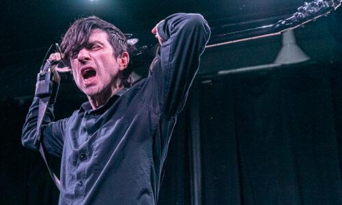 An intimate show with Anti-Flag in Santa Cruz